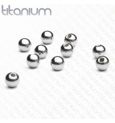 Løs Titanium Kugle