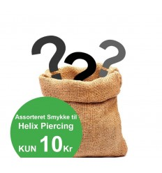 Assorteret Helix Piercing Smykke