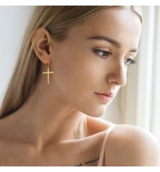 Øreringe med Kors