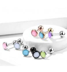 Piercing Stav med Lys Opalite