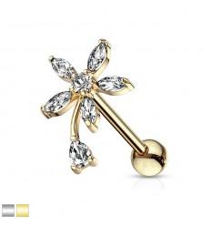 Helix Smykke med Hænge Blomst