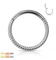 Clicker Ring med Snoet Design