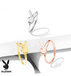 Piercing Ring med Playboy