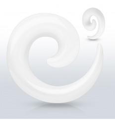 Hvid Spiral Taper