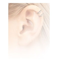 Ørespiral med Klar Sten