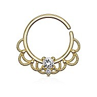 Guld Smykker til Daith Piercing