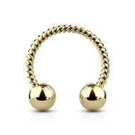 Guld Ringe til Conch Piercing