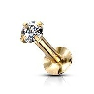 Tragus Smykker i Guld